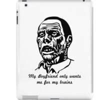 Zombie Boyfriend iPad Case/Skin