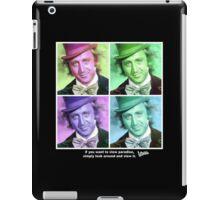 Willy Wonka Warhol iPad Case/Skin