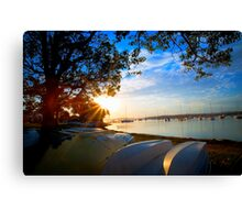The Ghost Boat  Canvas Print
