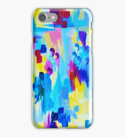 DONT QUOTE ME, Revisited Bold Abstract Acrylic Painting Gift Art Home Decor  iPhone Case/Skin