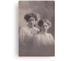 Myrtle and Zoe Canvas Print