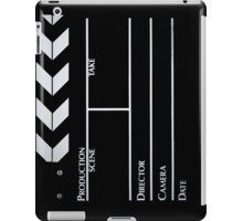 Clapperboard iPad Case/Skin