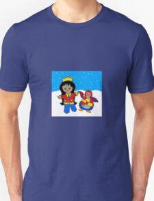 Princess Alli and Spangle the Penguin T-Shirt