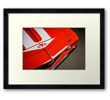 1969 Chevrolet Yenko Camaro  Framed Print