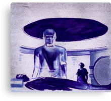 The Day The Earth Stood Still Canvas Print