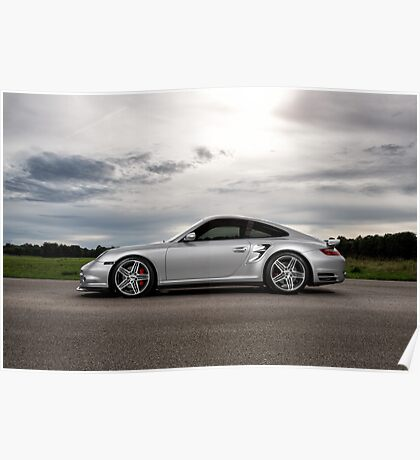 Porsche 997 Turbo Poster