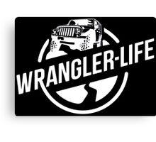 Jeep - Wrangler Life Canvas Print