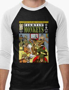 Fightin' Monkeys (Cover) Men's Baseball ¾ T-Shirt
