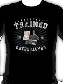 Classically Trained Retro Gamer T-Shirt