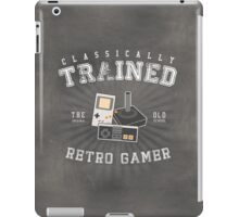 Classically Trained Retro Gamer iPad Case/Skin