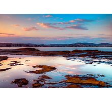 Terrigal Haven. (sunset) Photographic Print