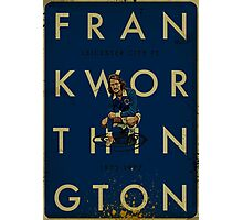 Frank Worthington - Leicester City Photographic Print