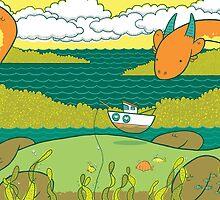 Loch Nessie by Amy Bouchard