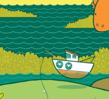 Loch Nessie Sticker