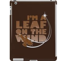 Leaf on the Wind - Browncoats Edition iPad Case/Skin