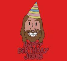 Happy Birthday Jesus One Piece - Short Sleeve