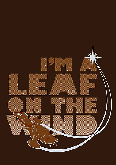 Leaf on the Wind - Browncoats Edition by geekchic  tees
