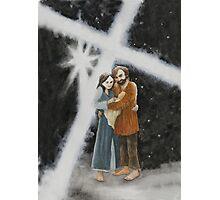 The Christmas Cross Photographic Print