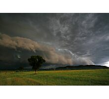 Northern Tablelands Gust Front Photographic Print