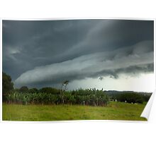 Byron Bay Thunderstorm Poster