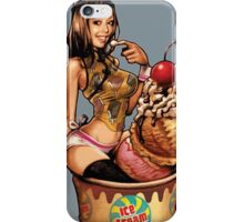 Pin Up enjoying Sweet! iPhone Case/Skin