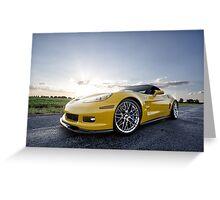 Chevrolet Corvette ZR1 Greeting Card