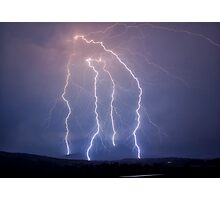 Kalbar Lightning Photographic Print