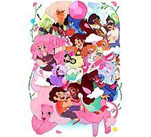 Steven Universe Family Photographic Print