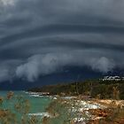 Coolum Beach Storm by Anthony Cornelius