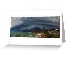 Coolum Beach Storm Greeting Card