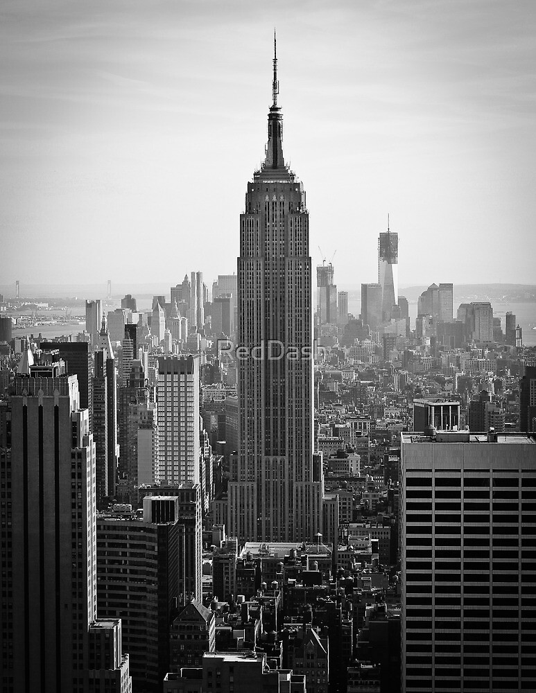 Empire State of Mind   New York 2012 by RedDash