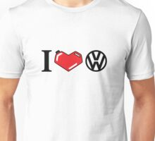 I Love VW. Unisex T-Shirt