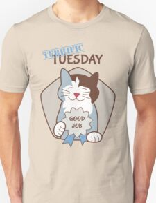 Terrific Tuesday Days of the Week Cat T-Shirt