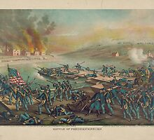 Battle of Fredericksburg December 13 1862 by Kurz & Allison by allhistory