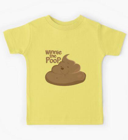 Winnie The Poop Kids Tee