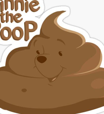 Winnie The Poop Sticker