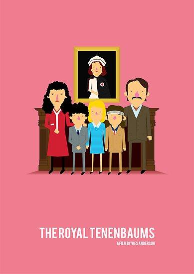 'The Royal Tenenbaums' tribute by Olaf Cuadras