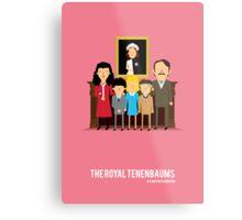 'The Royal Tenenbaums' tribute Metal Print
