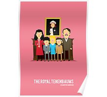 'The Royal Tenenbaums' tribute Poster