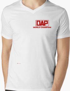 DAP T Shirt original style 70's Mens V-Neck T-Shirt