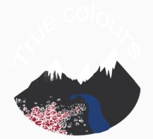 True colours m Kids Tee