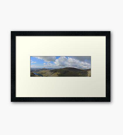 Seathwaite Tarn Cumbria Framed Print