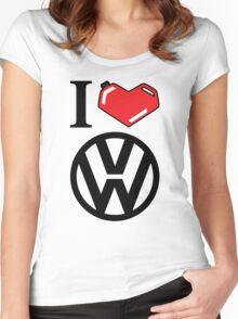 I Heart VW Women's Fitted Scoop T-Shirt