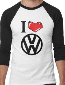 I Heart VW Men's Baseball ¾ T-Shirt