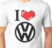 I Heart VW Unisex T-Shirt