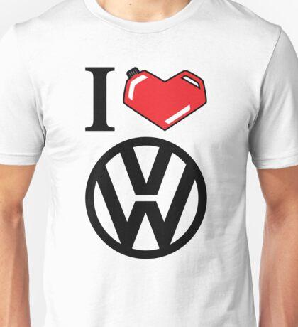 I Heart VW Unisex T-Shirt