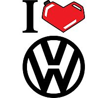 I Heart VW Photographic Print