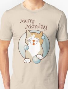 Merry Monday Days of the Week Cat T-Shirt
