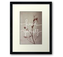 Find Yourself Framed Print