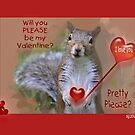 Squirrely Valentine by budrfli